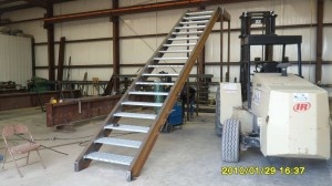 Handrails, Stairs, Misc Steel